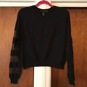 Forever 21 size small black sweater